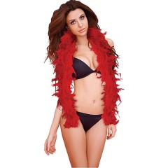 Ouch! Sexy Feather Boa, Red