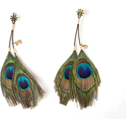 Unbound Cleopatra Peacock Earring Nipple Clamps