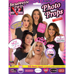 Bachelorette Party Photo Props 26 Photo Signs
