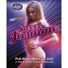 Blush Sweet Jasmine Full Sized Blow Up Doll