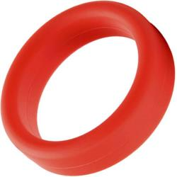 Tantus Super Soft Silicone C-Ring 1.5 Inch Red
