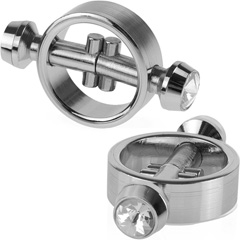 Fetish Fantasy Limited Edition Magnetic Nipple Clamps, Silver