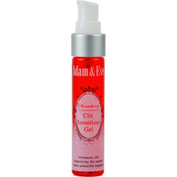 Adam and Eve Flavored Clit Sensitizer Gel, 1 fl.oz (30 mL), Strawberry