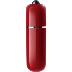 Le Reve 3-Speed Vibrating Bullet, 2.5 Inch, Red