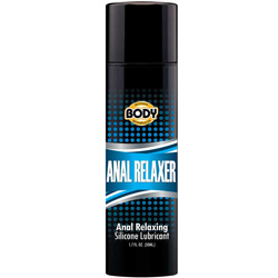 Body Action Anal Relaxer Silicone Lubricant, 1.7 fl. oz.