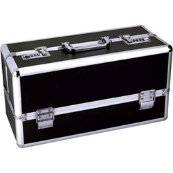 Lockable Toy Chest, Large 15 Inch, Black