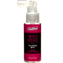 GoodHead Wet Head Dry Mouth Spray, Sweet Strawberry, 2 fl. oz.