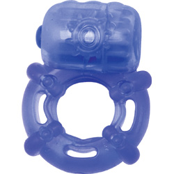 Climax Juicy Rings - Vibrating Cockring, Blue