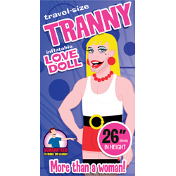 Tranny Inflatable Love Doll (Travel)