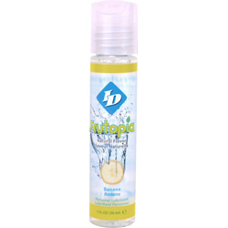 ID Frutopia Naturally Flavored Personal Lubricant, 1 fl.oz (30 mL), Banana