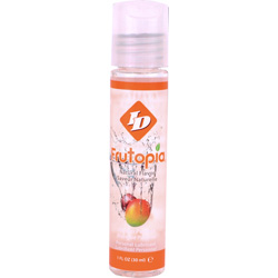 ID Frutopia Naturally Flavored Personal Lubricant, 1 fl.oz (30 mL), Mango Passion
