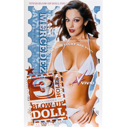Vivid Superstar Mercedez 3-Hole Doll with Realistic Face
