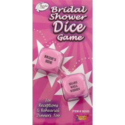Bridal Showers Dice Game