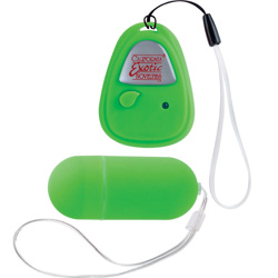 Shane`s World Hookup Remote Control Vibrating Egg, 2.75 Inch, Green