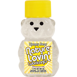 Nature Lovin` Lubricants, Honey Bear Lube with Royal Jelly, 1.7 fl. oz.