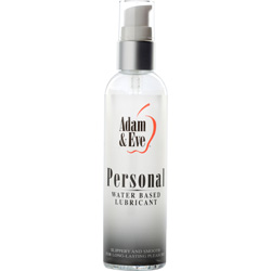 Adam and Eve Personal Water-Based Lubricant, 4 fl.oz (120 mL)