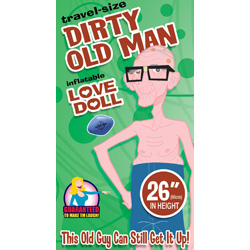 Travel Size Dirty Old Man Doll