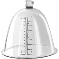 Size Matters Breast Pump Cup Accessory, Clear