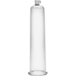 Size Matters Penis Pumping Cylinder, 2 Inch Diameter, Clear