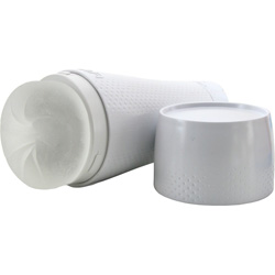Fleshlight Flight Travel Friendly Male Masturbator, White Case