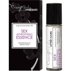 Crazy Girl After Dark Sex Aphrodisiac Essence with Pheromones, Black Orchid, Boxed