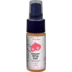 Crazy Girl Wanna Be Aroused, Naughty Nipples Arousal Creme, Sinful Sorbet, 1 fl. oz., Pump Bottle