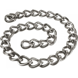 Masters Linkage 12 Inch Steel Chain, Silver