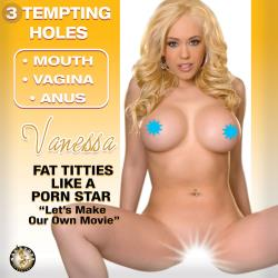 Nasstoys Inflatable Love Doll Vanessa, Ivory Flesh