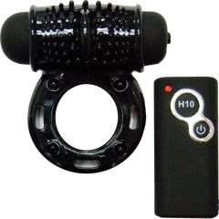 Nasstoys Best of Macho Remote Control Wireless Cock Ring, One Size, Silky Black