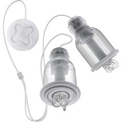 Temptasia Titilator Rechargeable Nipple Stimulating Cups, Clear