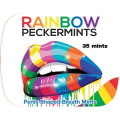 Hottproducts Unlimited Rainbow Peckermints, Carded