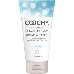 Coochy Oh So Smooth Shave Cream, 3.4 fl.oz (100 mL), Be Original