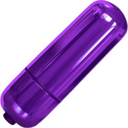 Pipedream Classix Waterproof Pocket Bullet, 2.2 Inch, Purple