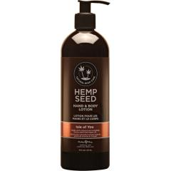 Earthly Body Hemp Seed Hand and Body Lotion, 16 Fl.Oz (473 mL), Isle of You