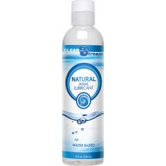 CleanStream Natural Water-Based Anal Lube, 8 fl. oz.